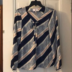 NWT Laundry by Shelli Segal size Small blouse